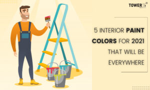 5 Interior Paint Colors for 2021 That Will Be Everywhere