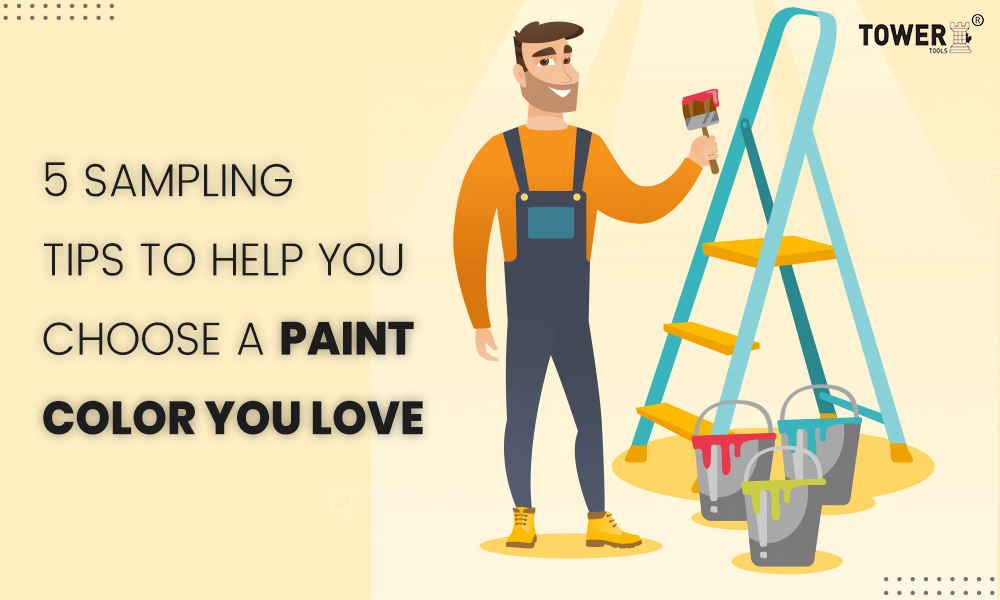 5 sampling tips to help you choose a paint color you love