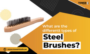 What are the different types of steel brushes?