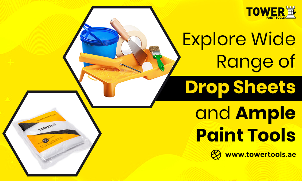 Explore Wide Range of Drop Sheets and Ample Paint Tools