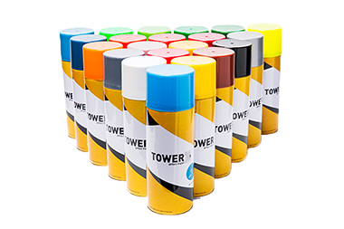 Tower sparay paints